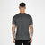 Nimes Full Check T-Shirt - Black