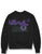 Money Stencil Block Crew Sweater - Black
