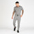 Nimes Check Chino Jogger Pants - Grey