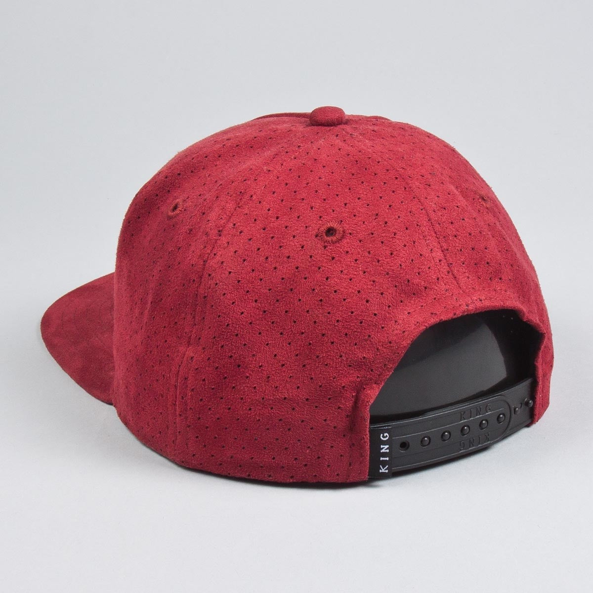 3551e299 King Apparel Rokeby Snapback Cap - Burgundy Suede – Limited Manchester