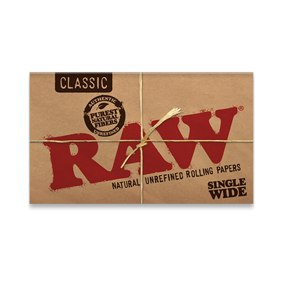Raw Classic Single Wide Rolling Paper