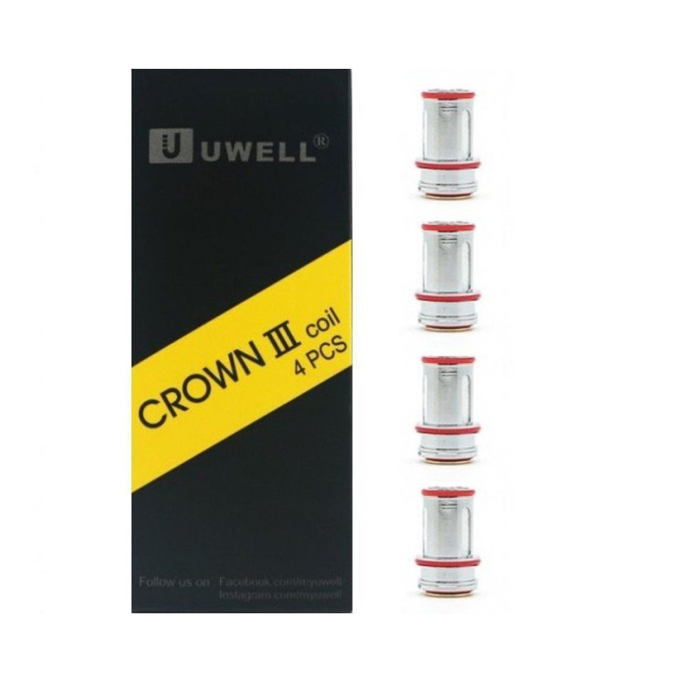 Uwell Crown 3 4-Pack Coils