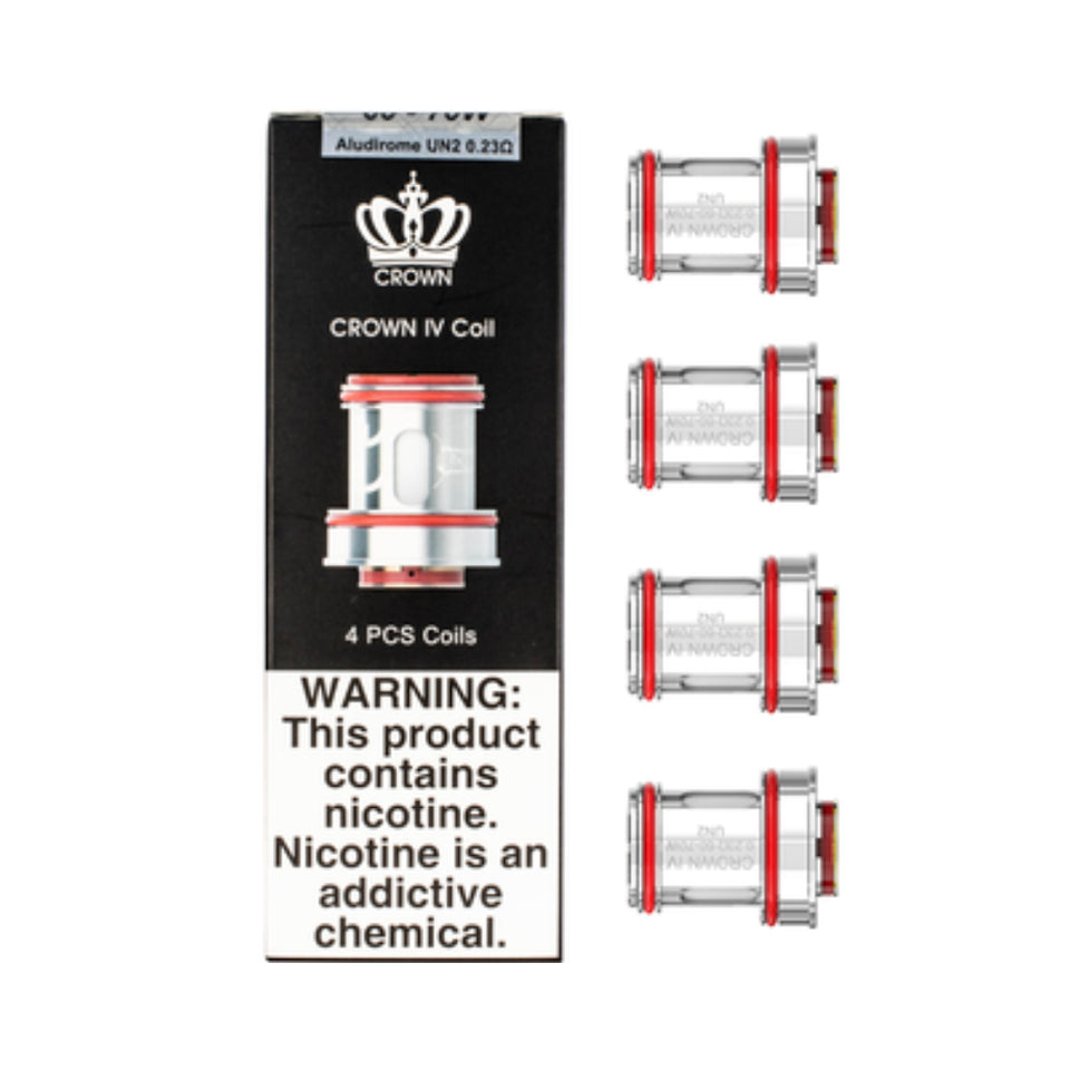 Uwell Crown IV 4-Pack Coils