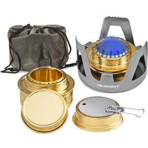 Aluminum Alcohol Mini Stove - wealers