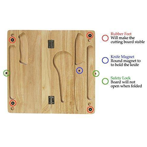 Folding Cutting Board Set - wealers