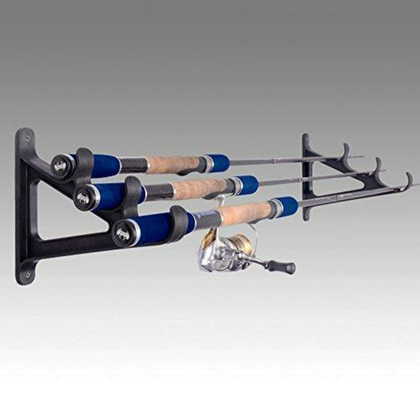 Fishing Rod Wall Rack - wealers