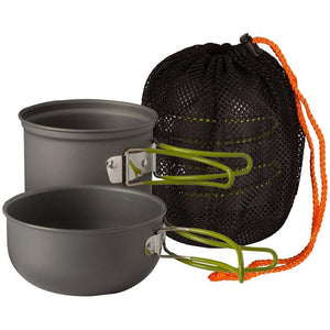 2 Pc Outdoor Cookware Kit - wealers