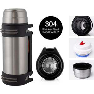 Stainless Steel Double Wall Vacuum Insulated Bottle - wealers