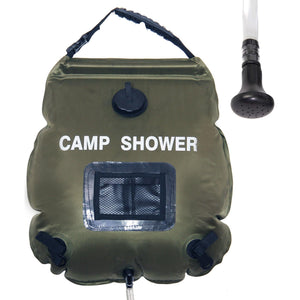 Solar Camp Shower Bag - wealers