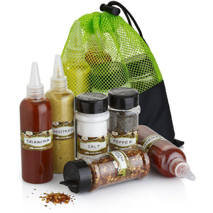 7 Pc Spice/Herb Shakers - wealers