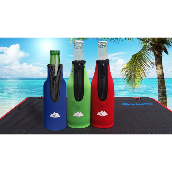 Neoprene Thermal Sleeve Bottle Holders (6 Pack) - wealers