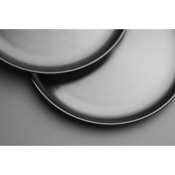 "OUTDOOR STAINLESS STEEL 9"" DINNER PLATE SET - wealers"