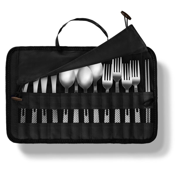 13 Piece Cutlery Travel Set - wealers