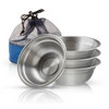Stainless Steel 6 inch Portable outdoor Bowls
