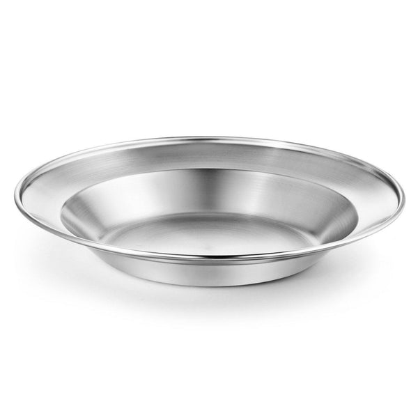 stainless steel plate-bowl set - wealers