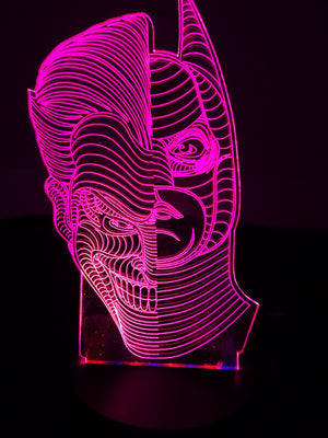 3D Lamps - Batman Vs Joker - Electronics