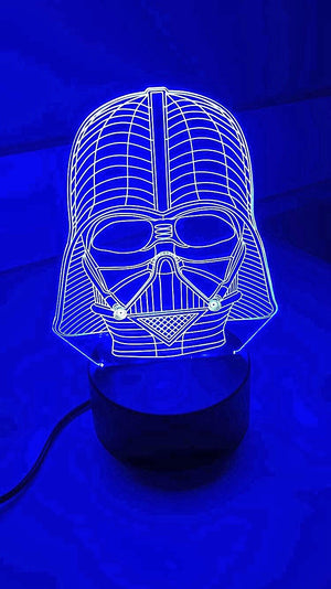 3D Lamps - Darth Vader - Electronics