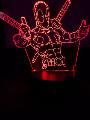 3D Lamps - Deadpool - Electronics