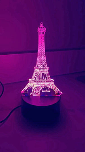 3D Lamps - Eiffel Tower - Electronics