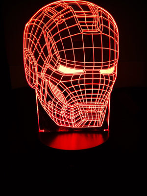 3D Lamps - Iron Man - Electronics