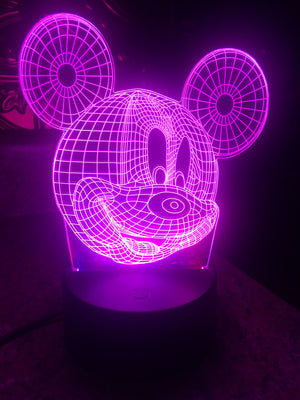 3D Lamps - Mickey Mouse - Electronics