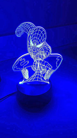 3D Lamps - Spiderman - Electronics