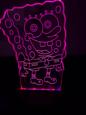 3D Lamps - Spongebob - Electronics
