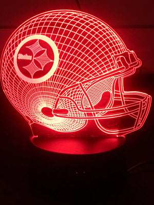 3D Lamps - Steelers - Electronics