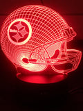 3D Illusion Night Light - Steelers - Electronics