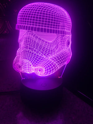 3D Lamps - Storm Trooper - Electronics