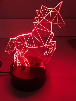 3D Lamps - Unicorn - Electronics