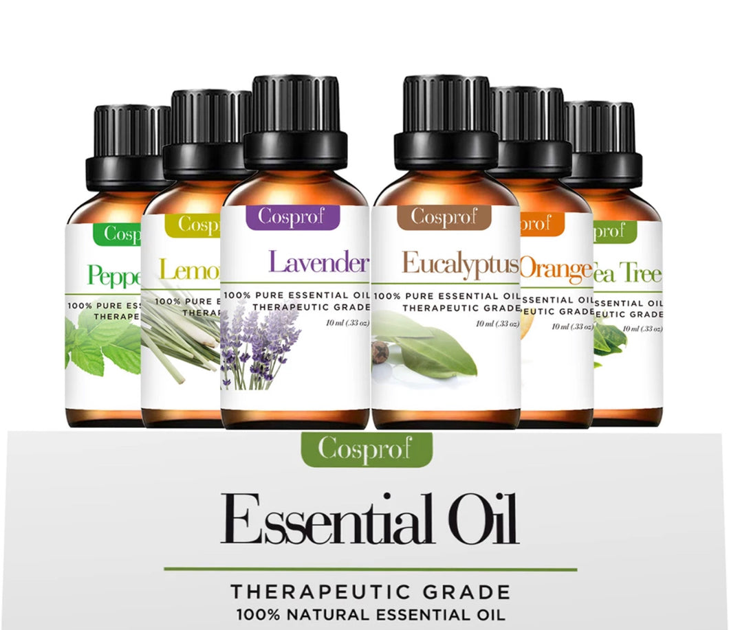 Essential Oils (6 Pack) - Gadget Habits - Wireless Earpods, Bluetooth Speakers, 3D Lamps