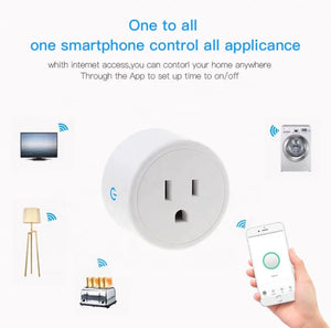 Smart Plug (Alexa and Google) - Gadget Habits - Wireless Earpods, Bluetooth Speakers, 3D Lamps