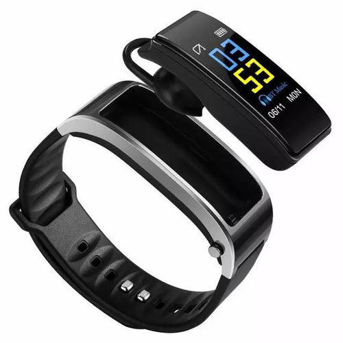 Bluetooth Headset Smartband - Gadget Habits - Wireless Earpods, Bluetooth Speakers, 3D Lamps