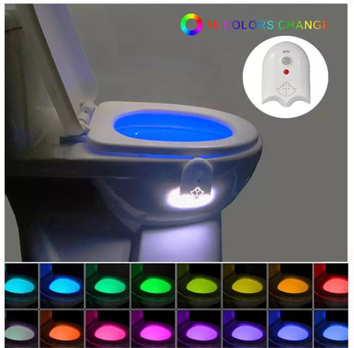 Toilet Bowl Light - Gadget Habits - Wireless Earpods, Bluetooth Speakers, 3D Lamps