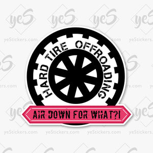 Air Down? Sticker by Jon Lawrence (SubieNorth)