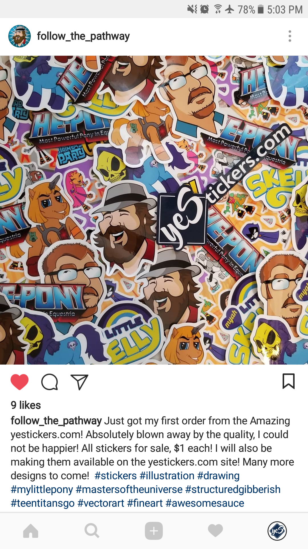 Custom stickers sell your own