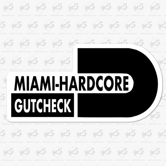 Gutcheck Miami Hardcore Dade County Rip
