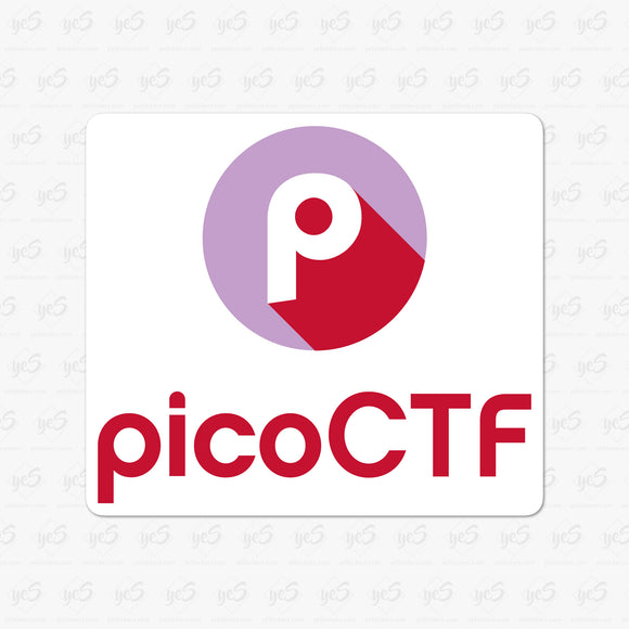 picoCTF - Carnegie Mellon University Cybersecurity Competition Logo Stickers