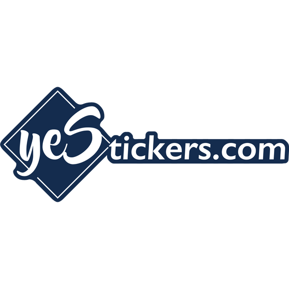yeStickers.com Full Logo and yeS Stickers