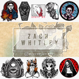 Artist Sticker Pack - Zach Whitley