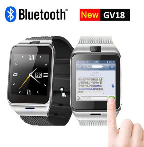 Smart Watch GV18 with Camera