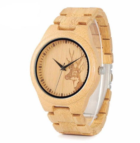 Full Bamboo Wooden Watch for Men