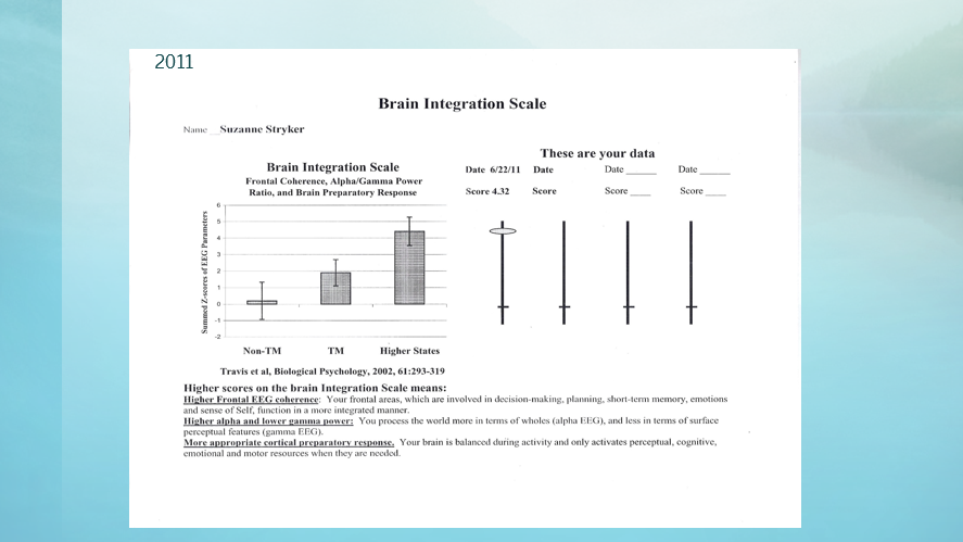 Brain Integration Scale 2011
