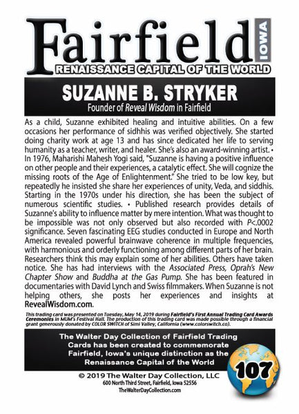 Suzanne Stryker Walter Day Trading Card