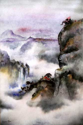 Ning Mountain Mists