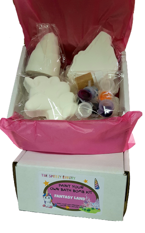 Paint Your Own Bath Bomb Kit