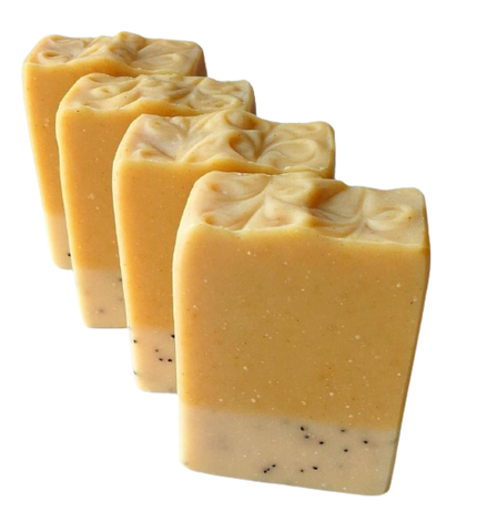 All Natural Lemon Drop Soap Bar