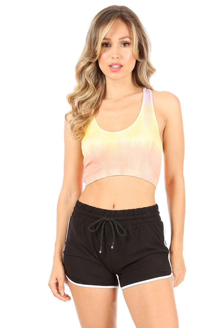 Racerback Crop Top - Suzette Collection