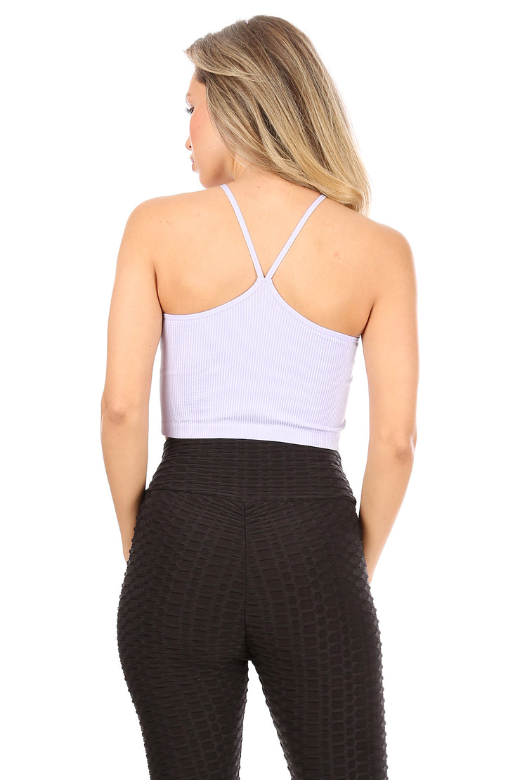 Ribbed Crop Top - Suzette Collection